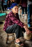 Worker in a Street Market