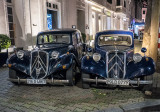 Pair of French Citroën Traction Avant, circa 1934-1957