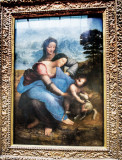 'The Virgin and Child with St. Anne' by Leonardo Da Vinci