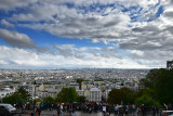 Paris from Monrmartre Viewpoint
