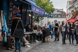 Lively Montmartre