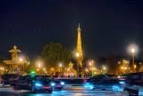 A Bustling Paris Night