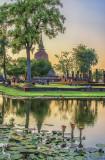 Sukhothai & Loi Krathong Festival, Thailand
