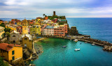 Vernazza from the upper Trail