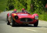 1954 Maserati Boglioliat the Mille Miglia