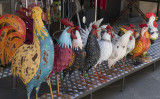 Crowing Roosters: The mascot/symbol of the Chianti Region