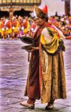 Bhutanese Monk at Festival