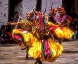 Vibrant Festival Dancers