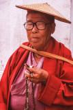 Elderly Buddhist Nun