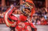 Colorful Festival Dancer