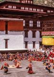 Wangdi Dzong During Festival