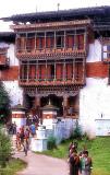 Main Entrance of Wangdhi Phodrang Dzong