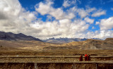 Young Monks Taking in the Landscape