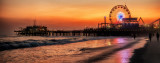 Evening at Santa Monica Pier