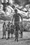 Maasai Warrior Jumping