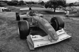 One of Micheal Schumacher's Formula 1 Drives