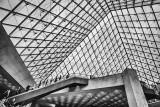 Inside the Pyramide du Louvre