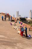 Vendors at Castillo San Felipe de Barajas Fortress