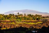 Mauna Kea Volcano from Waikoloa
