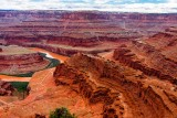 Colorado River Gooseneck - Dead Horse Point State Park - After Torrential Rain