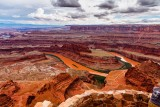 Colorado River Gooseneck - Dead Horse Point State Park- After Torrential Rain