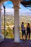 Top of the Santa Barbara Courthouse