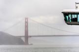 Star Princess approaching Golden Gate Bridge