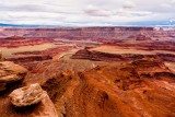 Dead Horse Point State Park - After Torrential Rain