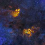 NGC 6357 and 6334