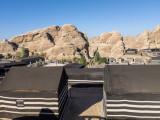 Desert camp, Jordan