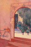 Archway and Bicycle, France