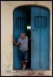 Blue door - Camagüey