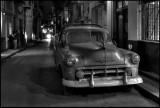 Dusty Chevrolet in Old Havana - Cuba