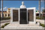 National hymn monument in Bayamo (Granma)
