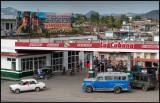 Petrol station in Santiago