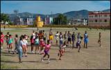 Schoolchildren in Moncada
