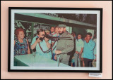 Palme visiting Cuba in 1975 (Photo inside Moncada)