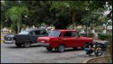 Dodge, Moskvich and MC in Las Tunas