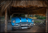 A beautiful old Pontiac in excellent condition