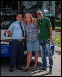 Our driver and guides Anki + Dorio in Santa Clara
