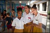 Santa Clara schoolgirls