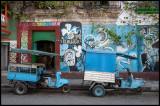 Moped taxis in Santa Clara
