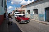 Chevrolet taxi in Santa Clara city centre