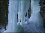 Ice near Tännforsen - Jämtland
