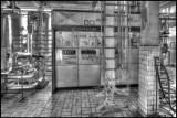 Abandoned Reppe Glykos factory interior