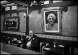 Soho Pub - London (Violette born 1927 on the photo)