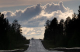 The road to Älvsbyn