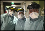 Dressed for Covid-19 in Kalix ICU