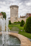 Tower and fountain