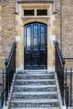 Door and railings